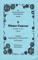 Order No. is: WinterConcert-1