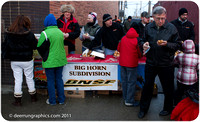 How about a free hot dog - Courtesy of the Burlington Northern Safety Committee & Sheridan Media? Order number is: 16thStroll-9