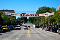 "From this banner north to Alger Avenue will be lined with 153  ""KARZ"" of all sorts filling up both sides of the street"