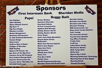 Check out that list of sponsors - thank you one and all